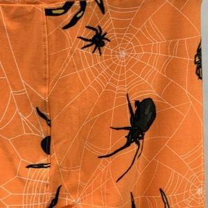 LuLaRoe Halloween Leggings One Size Orange Black